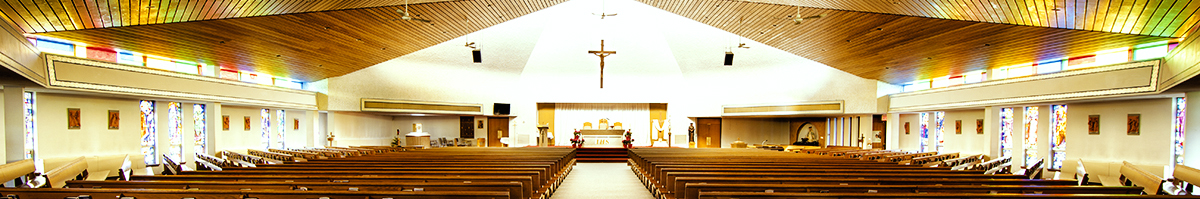 Inside picture of Saint Thomas More Church